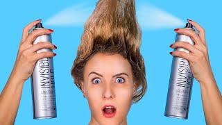 Kurzes Haar vs Langes Haar: Probleme / Coole Haar Life Hacks