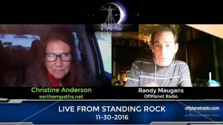 Standing Rock Report 11 30 16 Christine Anderson and Barbara Hall