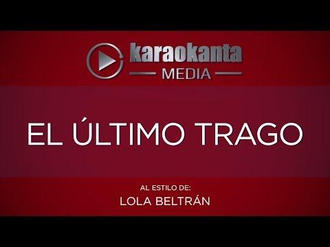 El último trago Lola Beltrán