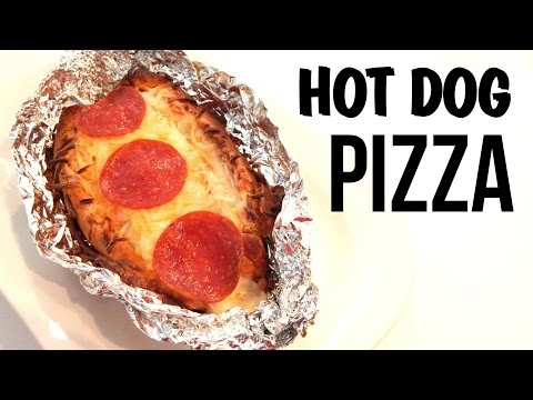 HOT DOG PIZZA (How to make, Easy grilled cheese recipe) - Inspire to Cook