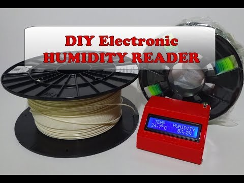 DIY Electronic Project – HUMIDITY READER – Cheap & Easy!!!