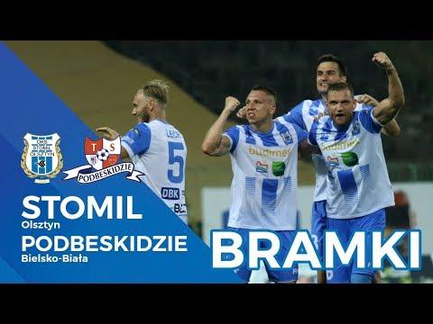 Stomil Olsztyn wygrał 3:1 z Podbeskidziem Bielsko-Biała
