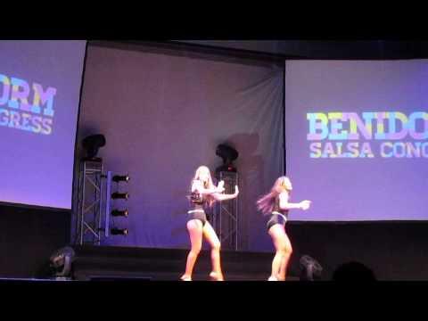 Shani Talmor & Cyra Cabrera Benidorm Salsa Congress