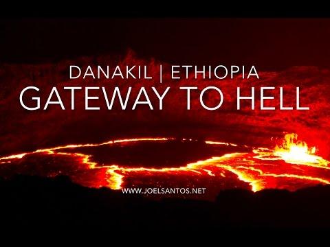 צאו לסיור באיכות 4K במדבר דנקיל, הר הגעש ארטה אלה והעיר דללול
