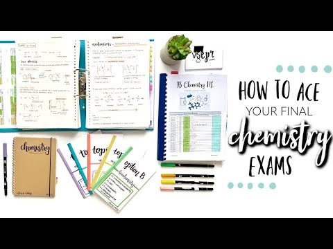 HOW TO ACE YOUR CHEMISTRY EXAMS (PART 2)   studycollab: Alicia