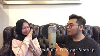 Gambar cover Malam Bulan Dipagar Bintang - P.Ramlee and Saloma (covered by aiman and syiqin)