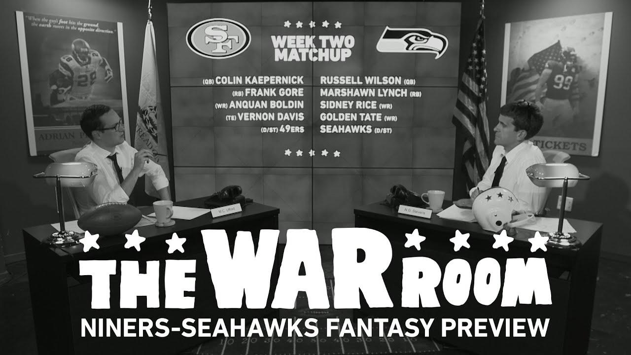 49ers vs. Seahawks Sunday Night Football Fantasy Preview - The War Room thumbnail