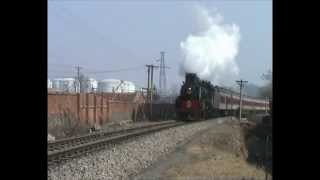 preview picture of video 'Chinese steam - Pingdingshan passenger trains! JS 8065 & 6225'
