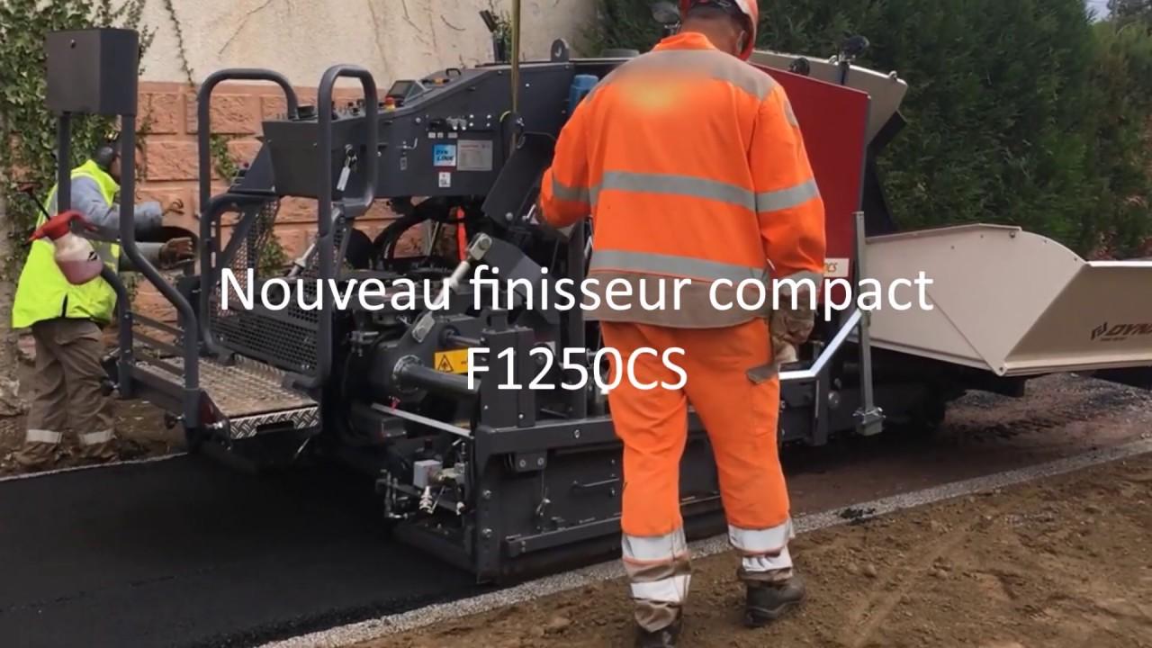 Nouveau F1250CS avec radiocommande