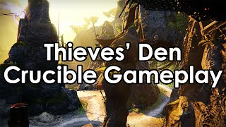 Destiny House Of Wolves: Thieves' Den Crucible Map Gameplay