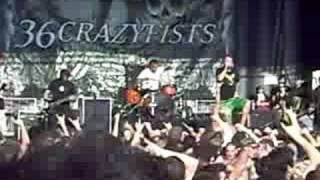 36 Crazy Fists - Slit Wrist Theory LIVE