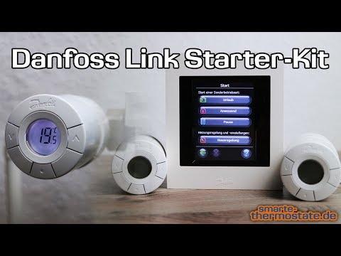 Smart Home Danfoss Link Starter Kit: Unboxing, Installation & Betrieb ✔ Thermostat