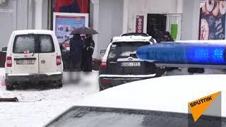 Взрыв в центре Кишинева 20.03.2018 - видео с места происшествия