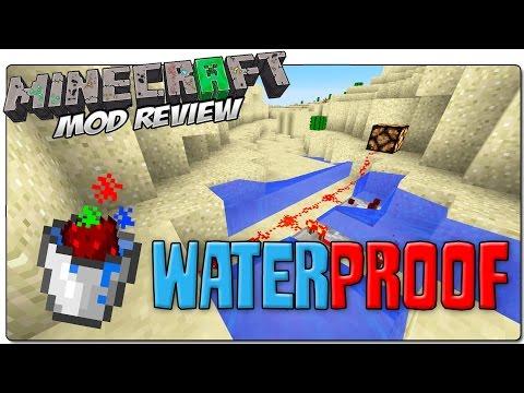 WATERPROOF REDSTONE MOD PARA MINECRAFT 1.7.10 | Redstone a prueba de agua | MINECRAFT MODS
