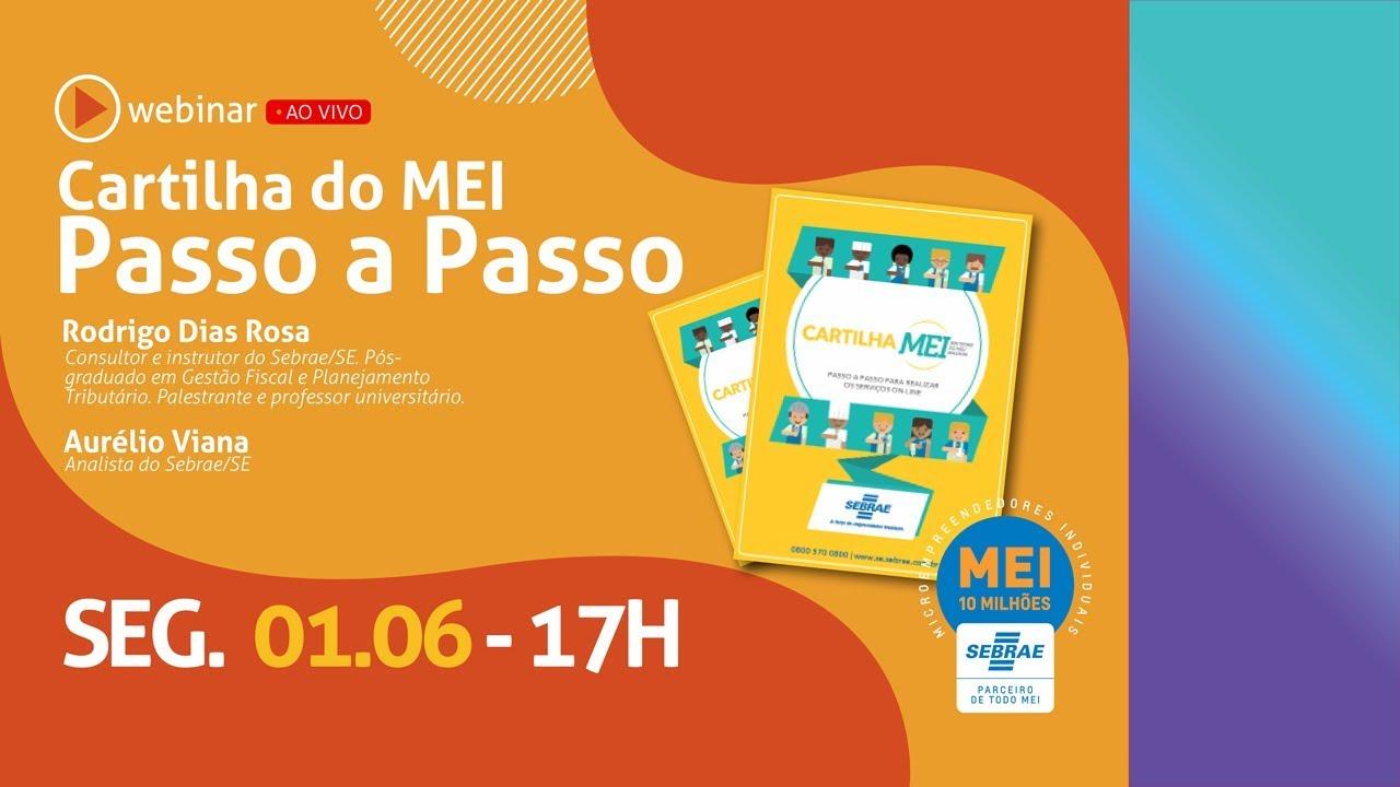 Webinar - Cartilha do MEI (com Rodrigo Dias e Aurélio Viana)
