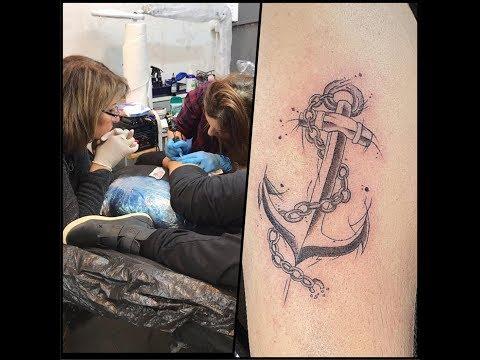 professional Tattoo classes - YouTube
