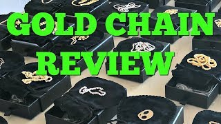 Jacoje GOLD CHAIN Review :)