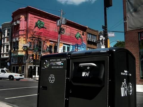 GOOD: BigBelly Trash Compactors