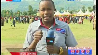 President Uhuru Kenyatta takes jubilee's campaigns to Isaac Ruto's door step