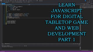 Learn JavaScript for Digital Tabletop Game and Web Development