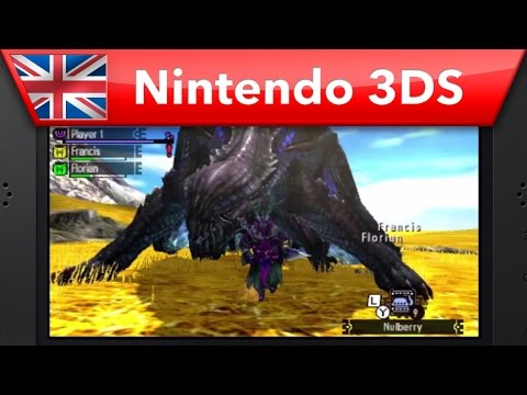 Nintendo vydalo návody pro hraní demoverze Monster Hunter 4 Ultimate