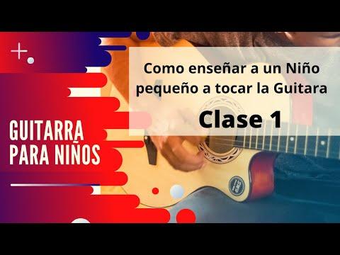 Guitarra para niños - Primera Lección