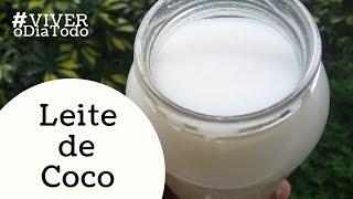 Leite de coco vegetal, sem lactose