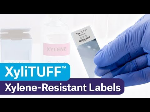 Stain Proof Xylene Resistant Labels