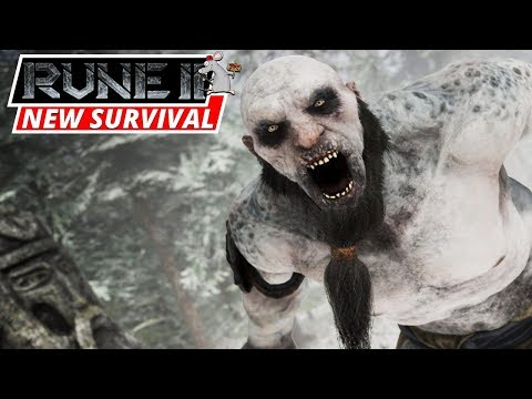 RUNE 2 Gameplay! New Open World Survival RPG Game!