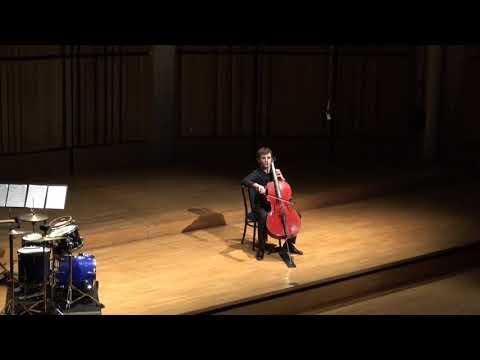 B. Britten, 2ème suite pour violoncelle, 1. Declamato, 3. Scherzo, 5. Ciaccona <br /> interprétée par M.-A. Novel