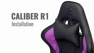쿨러마스터 CALIBER R1S 게이밍 의자_동영상_이미지