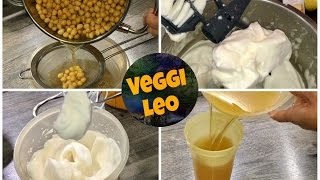 Aquafaba selber machen - veganer Eischnee   mit und ohne Thermomix