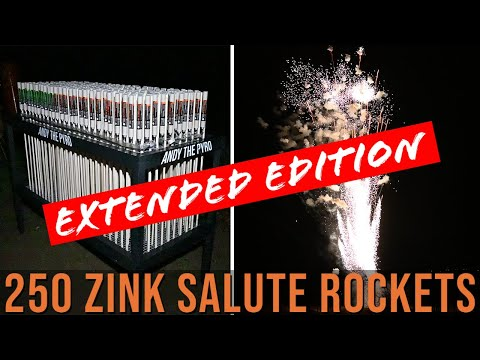 250 x Zink 901 & Zink 902 salute rockets [EXTENDED EDITION]