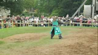 preview picture of video 'Warwick Castle - Jousting'