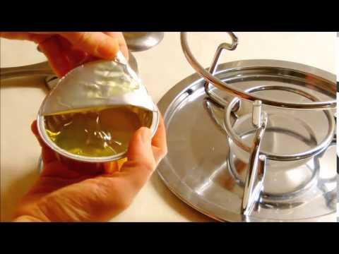 Brennpaste für Fondue richtig benutzen