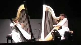 Stockhausen - Freude (Joy) - for two harps