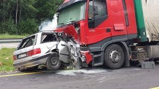 Подборка Аварий Грузовиков / Truck Crash Compilation №2