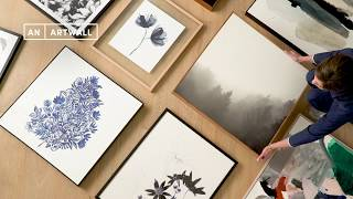 An Art Wall Three Ways With The Design Files