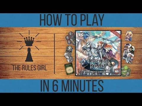 How to Play Unicornus Knights in 6 Minutes - The Rules Girl