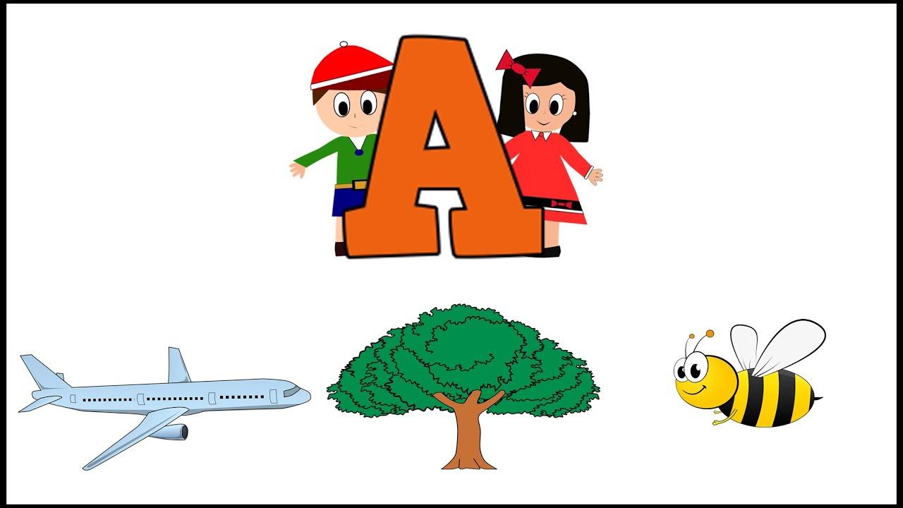 Letra A - Aprender a Leer - Abecedario en Español - Vídeos educativos para Niñosy Bebés