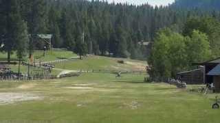 Cessna 185 Skywagon Takeoff - Awesome sound!