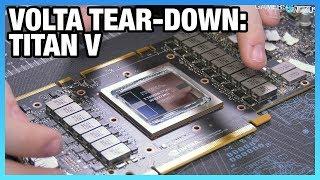NVIDIA Titan V Tear-Down: First Look at $3000 Volta