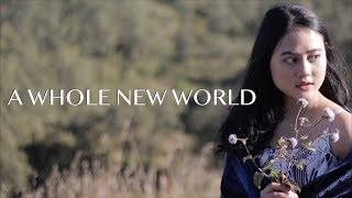 "Mena Massoud, Naomi Scott   A Whole New World (COVER) (From ""Aladdin"") Real 