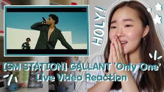 GALLANT 'Only One' Live Video Reaction | Korean American Reacts