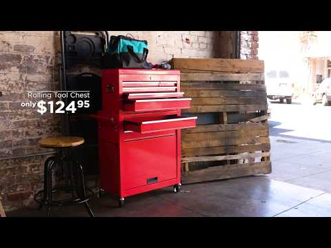 Best Choice Products' Portable Rolling Tool Chest