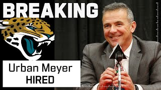 Jacksonville Jaguars Hire Urban Meyer as Head Coach by NFL