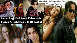 Lagan Lagi Full Song Lyric Video HQ ft Salman Khan, Mahima Choudhry- Tere Naam: Bollywood Love Songs
