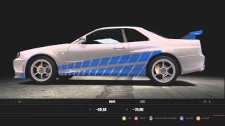 Forza 4 :: 2 Fast 2 Furious - ★Brian O'Connor - Skyline R34★ Remake