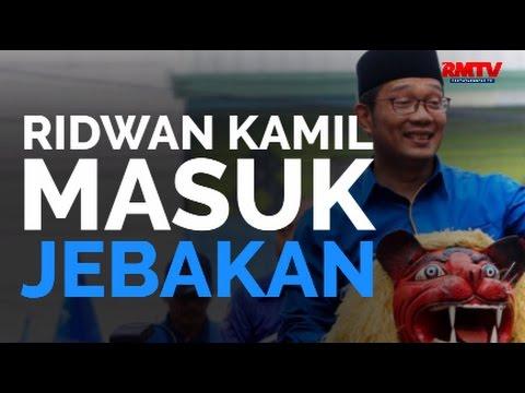 Ridwan Kamil Masuk Jebakan