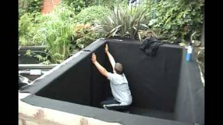 Pond Liner Installation Video From QBS Butyl (UK)